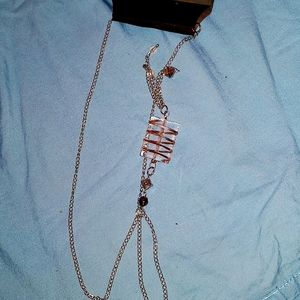 Nicole Miller New York Chain Link Necklace NWT!